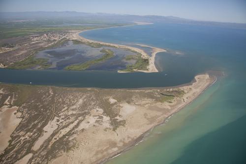 Desembocadura del Delta del Ebro