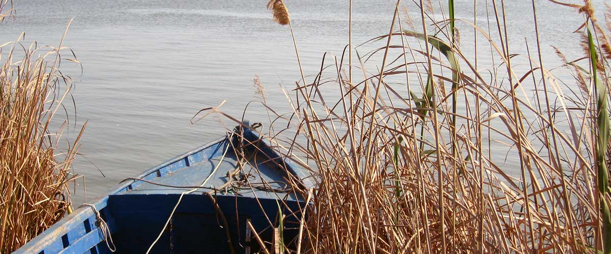 La desembocadura del Delta del Ebro