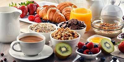 Desayuno variado en el Ecoturismo rural Villafeliche