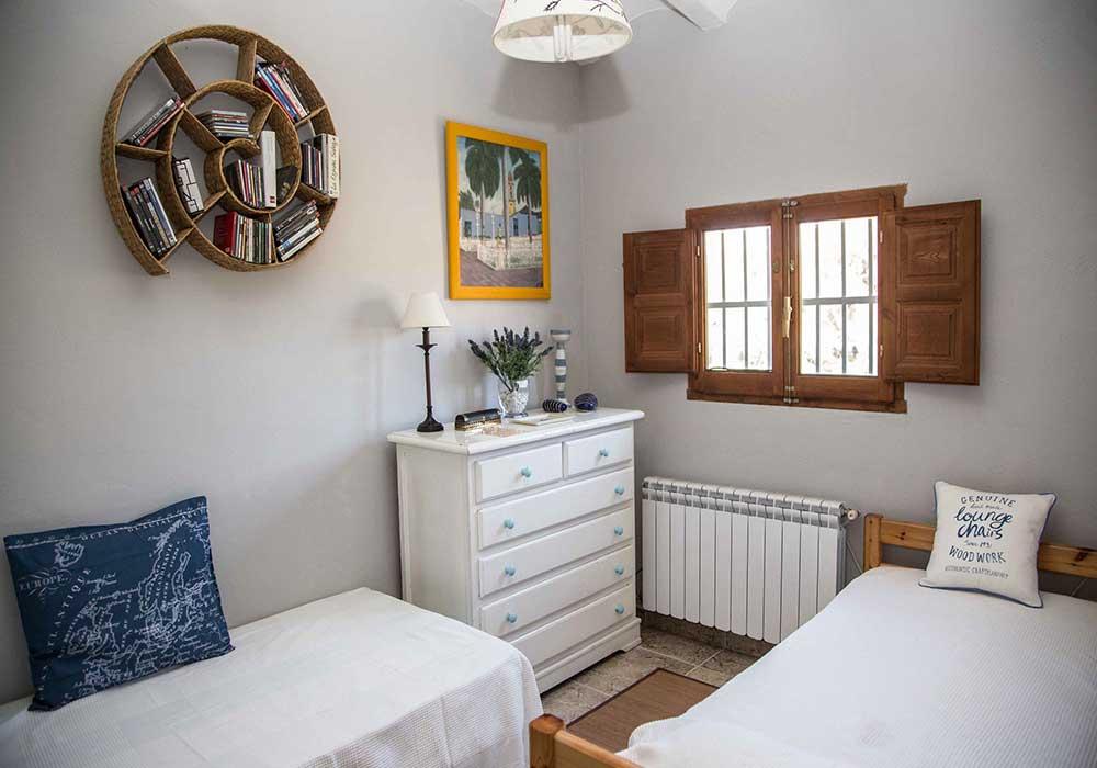 Habitación del Ecoturismo rural Villafeliche